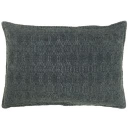 cushion-cover-jacquard-weaving-dark-grey-60x40-cm-by-ib-laurse