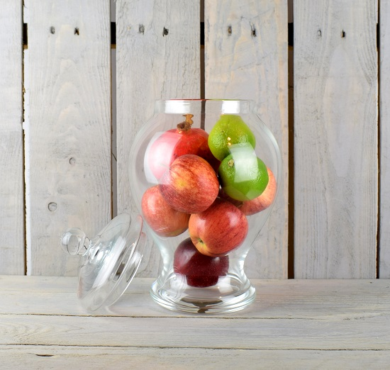 handmade-glass-jar-cookie-sweet-bonbon-storage-jar-bowl-with-lid-31-5-cm
