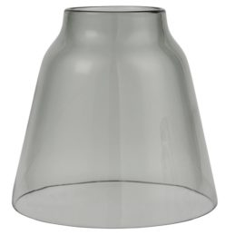 handblown-grey-glass-cover-with-hole-in-top-by-ib-laursen