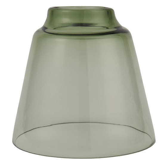 handblown-olive-green-glass-cover-with-hole-in-top-by-ib-laursen