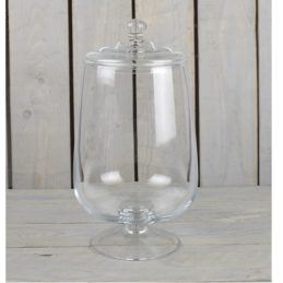 large-clear-glass-jar-bonbon-cookie-sweet-storage-jar-bowl-with-lid-34.5-cm