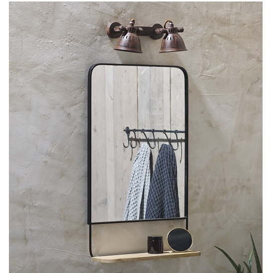 harini-portrait-antique-black-mirror-with-mangoo-wood-shelf-by-nkuku