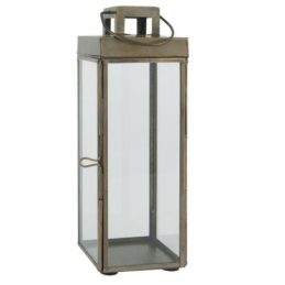 square-glass-lantern-pillar-candle-holder-with-hook-by-ib-laursen-25-5-cm