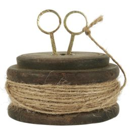 wooden-spool-with-jute-string-and-scissors-unique-different-sizes-by-ib-laursen