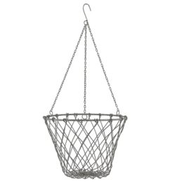 grey-hanging-basket-with-chain-holder-for-pot-flowers-by-ib-laursen