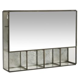 black-wall-hanging-storage-cabinet-with-5-rooms-mirror-door-by-ib-laursen