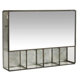 black-wall-hanging-storage-cabinet-with-5-rooms-mirror-door-by-ib-laursen