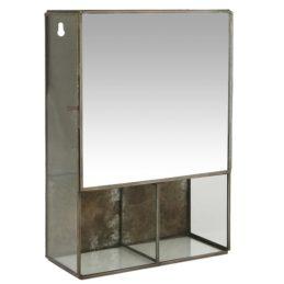 black-wall-hanging-storage-cabinet-with-3-rooms-mirror-door-by-ib-laursen