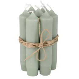 set-of-6-short-dinner-dusty-green-candles-by-ib-laursen
