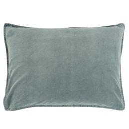 velvet-dusty-blue-cushion-cover-72x52-cm-by-ib-laursen