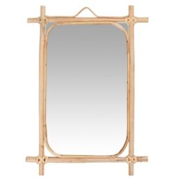 wall-hanging-mirror-with-bamboo-edge-by-ib-laursen