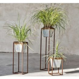 narlu-metal-elegant-rustic-small-planter-with-stand-by-nkuku