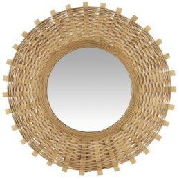wall-hanging-round-mirror-with-bamboo-braid-by-ib-laursen