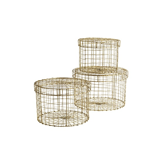round-gold-wire-baskets-with-lids-set-of-3-by-madam-stoltz