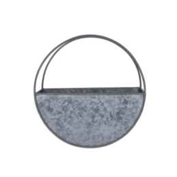 small-galvanized-wall-planter-circular-30-cm-by-gisela-graham
