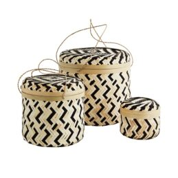 set-of-3-round-bamboo-boxes-with-lid-black-and-natural-by-madam-stoltz