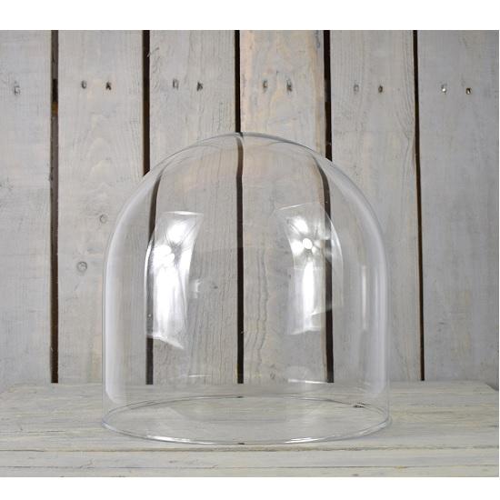 medium-handmade-mouth-blown-clear-circular-glass-display-cloche-bell-jar-dome-30-cm