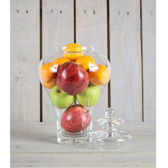 handmade-glass-jar-cookie-sweet-bonbon-storage-jar-bowl-with-lid-33-cm