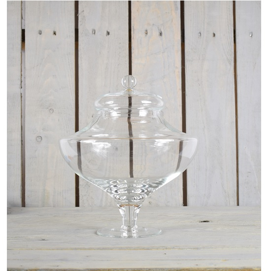 handmade-beautiful-clear-glass-jar-with-a-unique-shape-and-lid-3200-ml