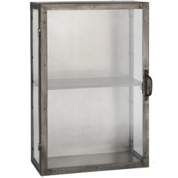 metal-wall-cabinet-1-shelf-brooklyn-black-with-glass-door-sides-by-ib-laursen