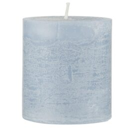 rustic-candle-light-blue-medium-by-ib-laursen
