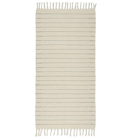 100-cotton-floor-runner-cream-with-light-blue-stripes-by-ib-laursen