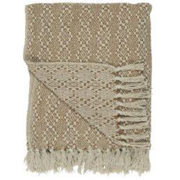 100-cotton-blanket-throw-cream-with-cognac-harlequin-pattern-by-ib-laursen