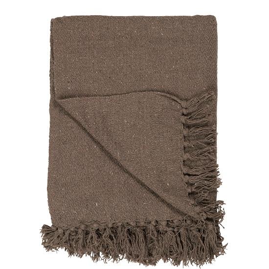 100-cotton-brown-blanket-throw-by-ib-laursen