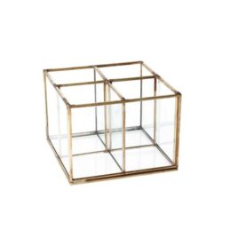 brass-glass-4-part-box-organiser-by-gisela-graham