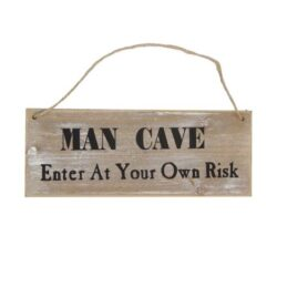 wooden-sign-man-cave-enter-at-your-own-risk-by-gisela-graham