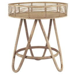 large-round-rattan-table-with-high-edge-by-ib-laursen