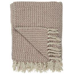 100-cotton-blanket-throw-cream-malva-by-ib-laursen