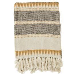 striped-woven-blanket-throw-ecru-honey-brown-by-madam-stoltz