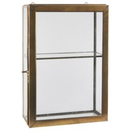 brass-wall-hanging-storage-glass-cabinet-with-1-glass-shelf-glass-door-by-ib-laursen