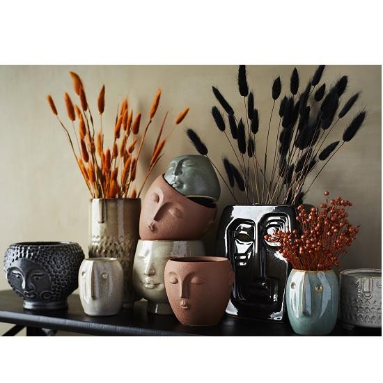 light-green-small-stoneware-flower-pot-with-face-imprint-by-madam-stoltz