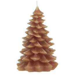 candle-christmas-tree-orange-12-5-cm-by-ib-laursen