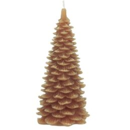 candle-christmas-tree-orange-18-5-cm-by-ib-laursen