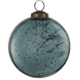 christmas-baubles-ornament-flat-pebbled-glass-petrol-by-ib-laursen