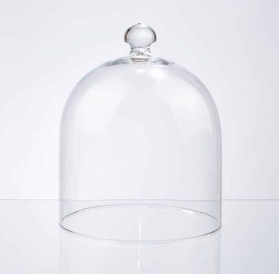 handmade-glass-display-cover-cloche-bell-dome-with-knob-23-cm