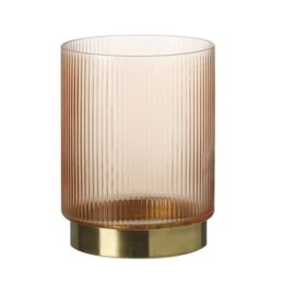 glass-and-brass-apricot-candle-holder-medium-by-parlane