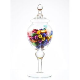 footed-glass-jar-cookie-sweet-bonbon-storage-jar-bowl-with-lid-42-cm