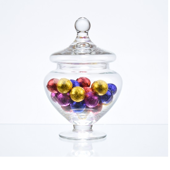 footed-glass-jar-cookie-sweet-bonbon-storage-jar-bowl-with-lid-18-cm