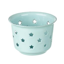 blue-enamel-candle-holder-with-stars-by-parlane