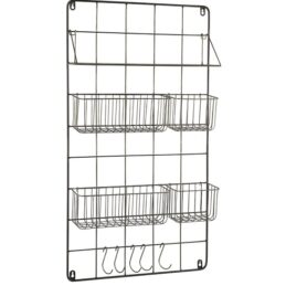 wall-hanging-rack-organizer-with-1-shelf-4-baskets-and-5-hooks-by-ib-laursen