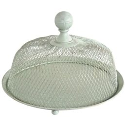 metal-plate-with-wire-mesh-dome-o-27-cm-h-20-by-originals