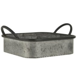 square-metal-garden-tray-with-4-rooms-by-ib-laursen