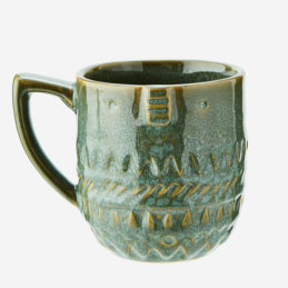 stoneware-green-mug-with-face-imprint-300-ml-by-madam-stoltz