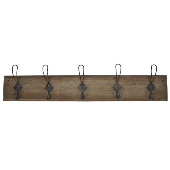 wood-wall-mounted-coat-rack-with-5-hooks-by-ib-laursen