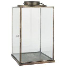 large-glass-lantern-pillar-candle-holder-brass-42-cm-by-ib-laursen