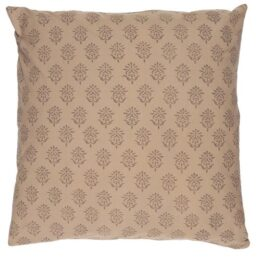 cotton-cushion-cover-milky-brown-with-block-pattern-50x50-cm-by-ib-laursen